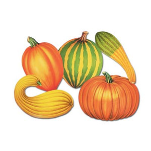 Decorative Fall Cutouts, 16-Inch