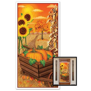 Decorative Fall Door Cover