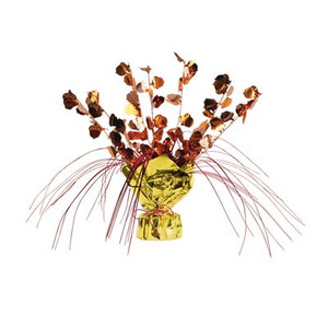 Decorative Acorn Gleam 'N Spray Centerpiece