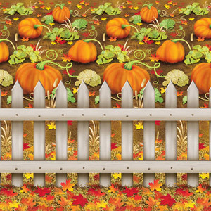 Decorative Pumpkin Patch Backdrop