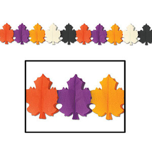 Decorative Designer Fall Leaf Garland