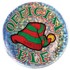Official Elf Button