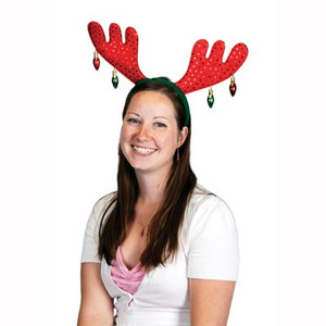 Christmas Antlers Party Hat