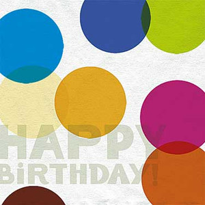 16 Happy Birthday Luncheon Napkins