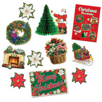 Christmas Decorama Decorations Kit