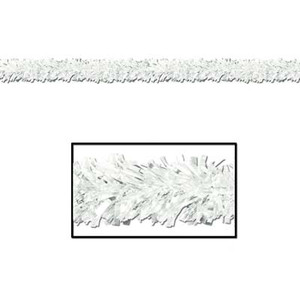 6-Ply FR Metallic White Festooning Garland