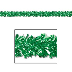 6-Ply FR Metallic Green Festooning Garland