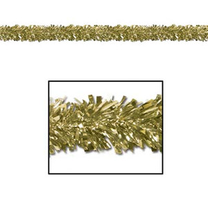 6-Ply FR Metallic Gold Festooning Garland