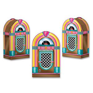 Jukebox Favor Boxes