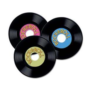 Personalized Plastic Records