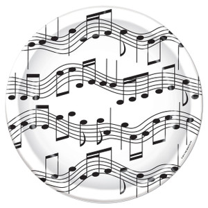 Musical Notes 7-Inch Plates