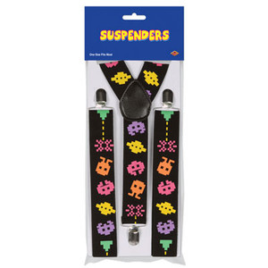 Arcade Game Suspenders