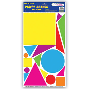 Party Shapes Peel 'N Place