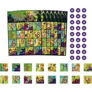 Disney Tinker Bell and Fairies Party Game Bingo 21585