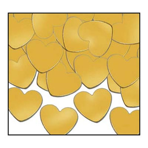 Fanci-Fetti Hearts - Gold