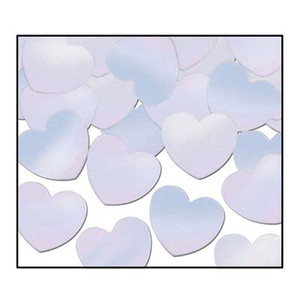 Fanci-Fetti Hearts - Opalescent