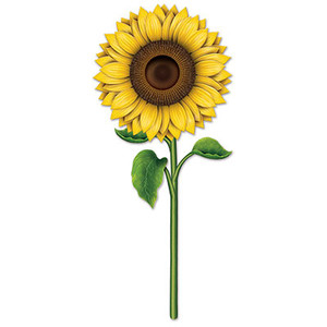 Sunflower Cutout