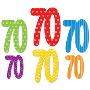 70th  Cutouts