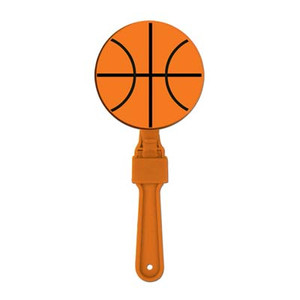 Basketball Plastic Clapper