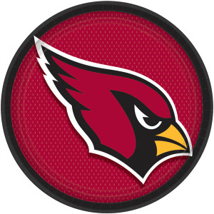 Arizona Cardinals Lunch Plates