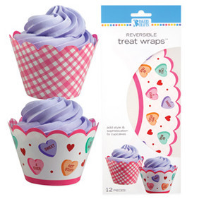 Candy Hearts Treat Wraps