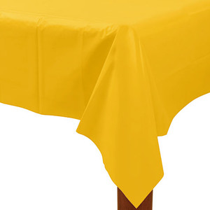 "Yellow Rectangle Tablecover 54"" x 108"""