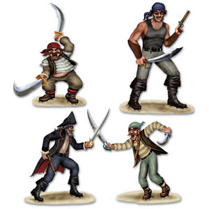 Dueling Pirate & Bandit Props