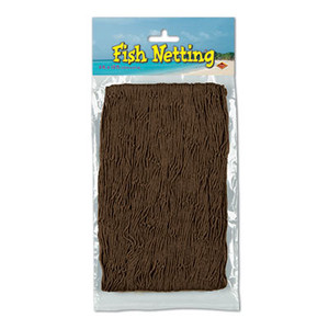 Fish Netting Brown