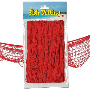 Fish Netting Red