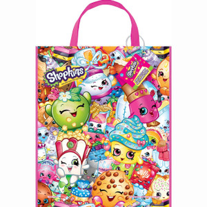 Large Plastic Shopkins Favor Bag