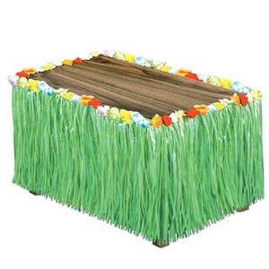 Artificial Grass Green Table Skirting