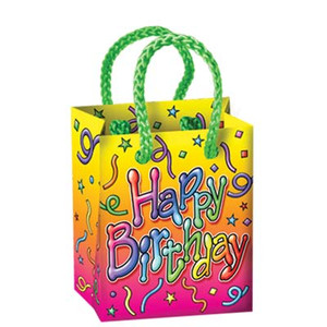Birthday Mini Gift Bag Party Favors