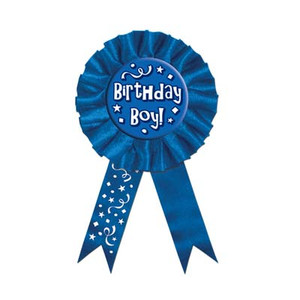 Birthday Boy! Award Ribbon