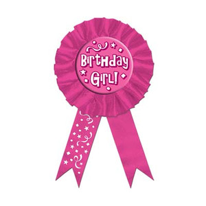 Birthday Girl! Award Ribbon