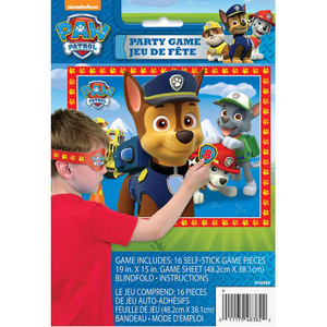 PAW Patrol Party Game Poster