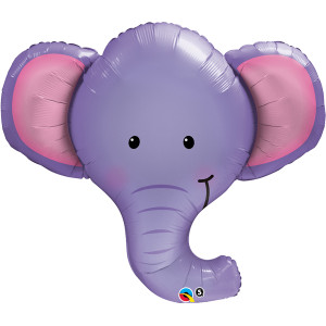 Ellie The Elephant Microfoil Balloon