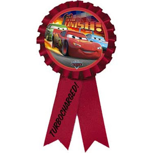 Cars Award Ribbon