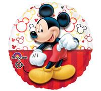 Mickey Portrait Party Balloons, Multicolor, 18 Inch