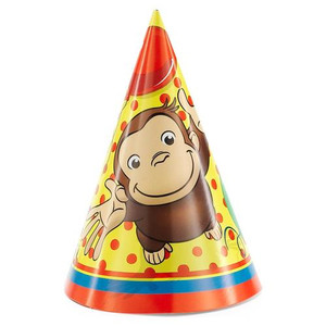 Curious George Cone Party Hats 8