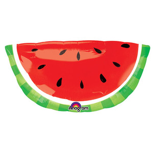 32-Inch Watermelon Shaped Balloon