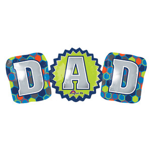 37-Inch Dad Fun Shaped Balloon