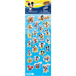 24 Mickey Mouse Roadster Racers Puffy Stickers