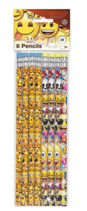 Emoji Pencils 8 Count