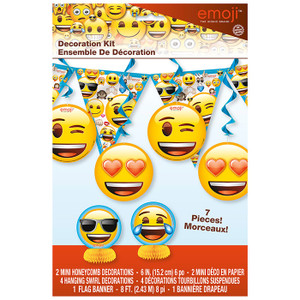 Emoji Decor Kit - 7Pc