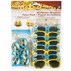 Emoji Favor Pack 48 Piece