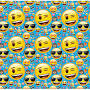 "Emoji Gift wrap Roll 30"" x 5 Ft"