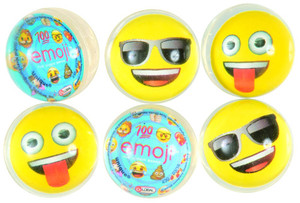 Emoji Bounce Balls 6 Count