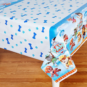 Paw Patrol Girl Plastic Table Cover 54 x 84