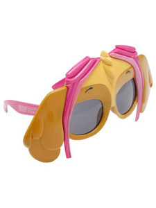 Paw Patrol Girl Novelty Glasses 4 Count