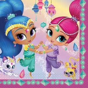 Shimmer & Shine Lunch Napkins 16 Count